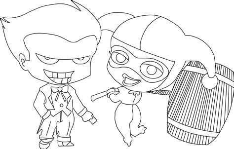 harley quinn coloring pages    print