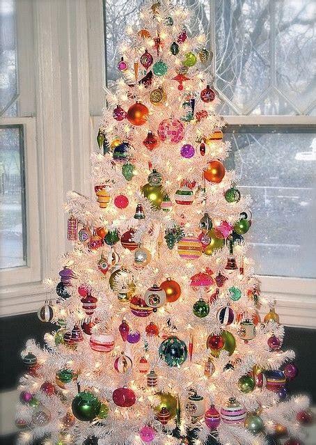 magical white christmas tree decoration ideas collagecab