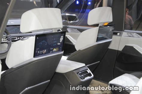 bmw concept  iperformance rear seat entertainment  iaa