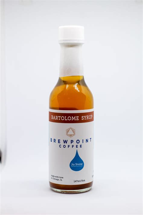 Our mission is to build a better world through coffee. Assorted Jo Snow Syrups- 5oz - Brewpoint Coffee
