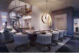 Luxurious Penthouse Dramatic Interior Who Is Retaining Their Fifth Avenue Penthouse As Per The Divorce Deal