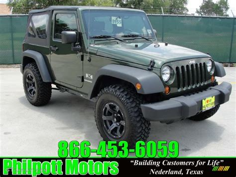 jeep metallic 2008 jeep green metallic jeep wrangler x 4x4 30816401