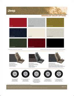 catalogue jeep jeep wrangler color options  budor