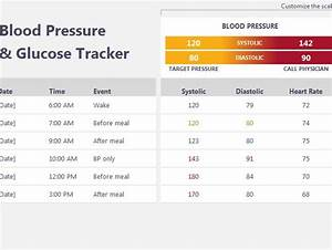 excel dashboard templates free blood pressure and glucose tracker my excel templates
