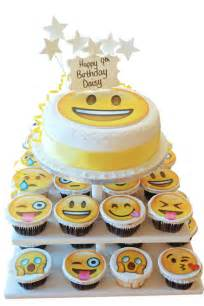 square cupcakes emoji cake tower cupcake towers the brilliant bakers