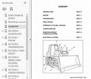 Fiat Kobelco D180 Crawler Dozer Workshop Pdf Download