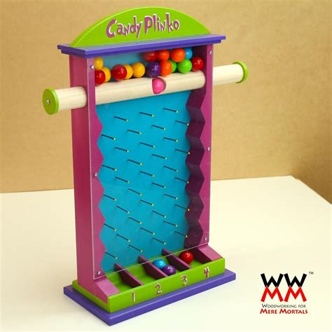 candy plinko game woodworking  mere mortals