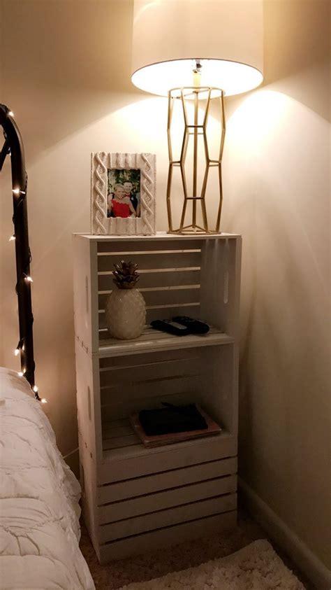creative brilliant diy nightstand ideas bedroom crate furniture diy furniture