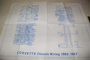 Sell 1967 Corvette Wiring Diagram Motorcycle In Canton