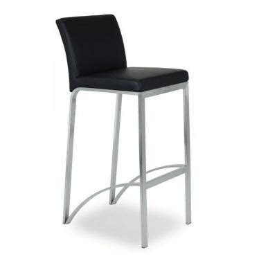 chaise de bar 4 pieds chaise haute de bar avec 4 pieds assise et dossier