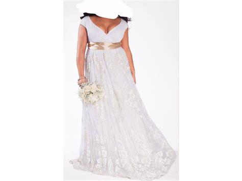 Other Eugenia Vintage Plus Size Wedding Gown, 0 Size