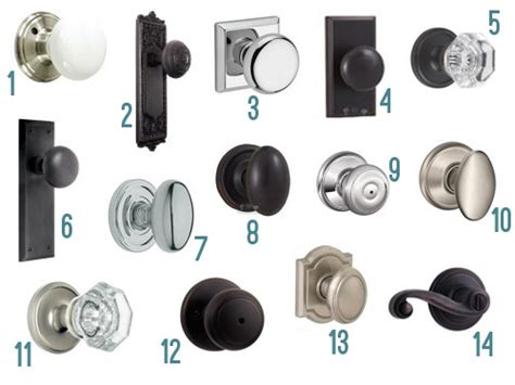 How To Replace Closet Doors by Fourteen New Interior Door Knob Options Young House Love