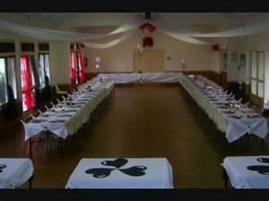 Deco Table 18 Ans : decoration de salle anniversaire rouge blanc noir pour une fille de 18 ans youtube ~ Dallasstarsshop.com Idées de Décoration