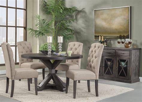 newberry grey  dining room set  alpine coleman