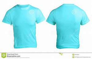 men 39 s blank blue shirt template stock image image 36166555