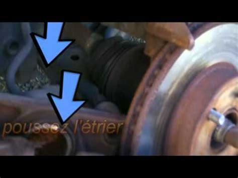 comment changer les plaquettes de frein arriere sur scenic 2 comment changer les disques et plaquettes de freins rotor et 233 trier