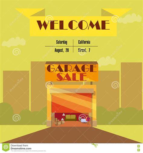 garage  yard sale  signs box  household items