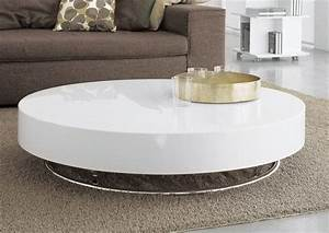 Round white coffee table in modern freedom pedestal decor for Distressed white round coffee table
