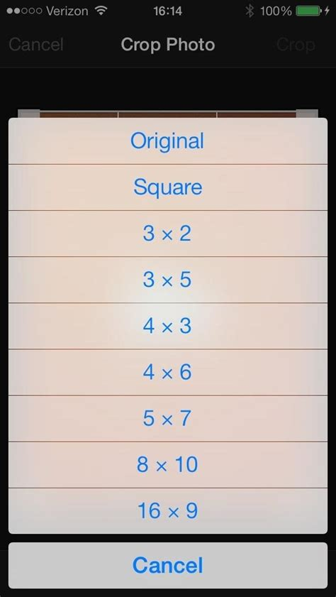 how to crop a on iphone fixing ios 7 wallpaper woes how to scale crop align