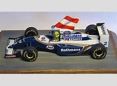 143 scale 1994 Williams FW 16 Aryton Senna at Imola model