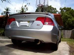 2008 Honda Civic Si Skunk2 70mm cat-back exhaust (2) - YouTube