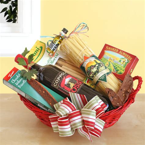 coppola prima italian wine dinner christmas basket