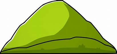 Hill Mountain Clipart Scribblenauts Transparent Wikia Nocookie