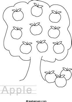 images  apple cutting worksheet apple outline