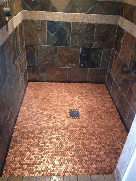 A Building We Shall Go!: Heads Up penny floor   Do it