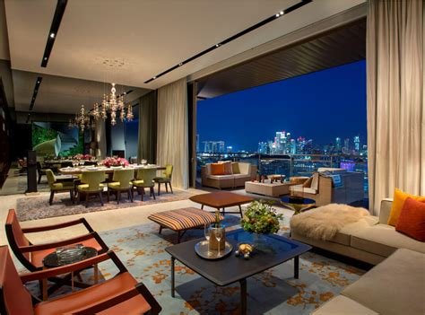 Super Luxury Singapore Apartment With In-Room Car Parking : Luxury Apartment Singapore