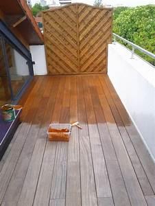 Terrasse Bois Exotique : entretien des meubles en teck et terrasse en bois exotique ~ Melissatoandfro.com Idées de Décoration