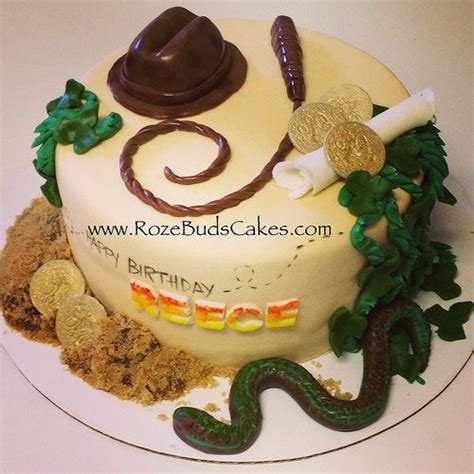 indiana jones themed cake   rozebuds kids