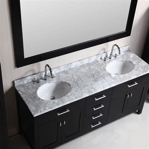 design element  london double sink bathroom vanity