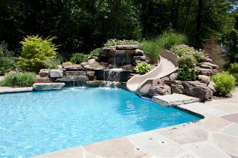 ho ho kus jersey backyard renovation traditional pool york by flint