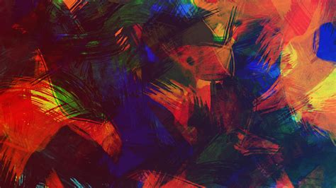 Abstract Wallpaper Colorful by Colorful Paint Texture 4k Abstract Desktop Wallpapers