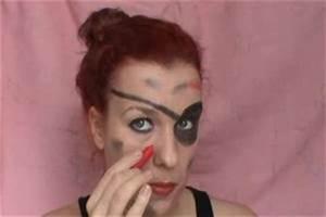 Richtig Schminken Anleitung : video piratenfrau schminken anleitung ~ Frokenaadalensverden.com Haus und Dekorationen