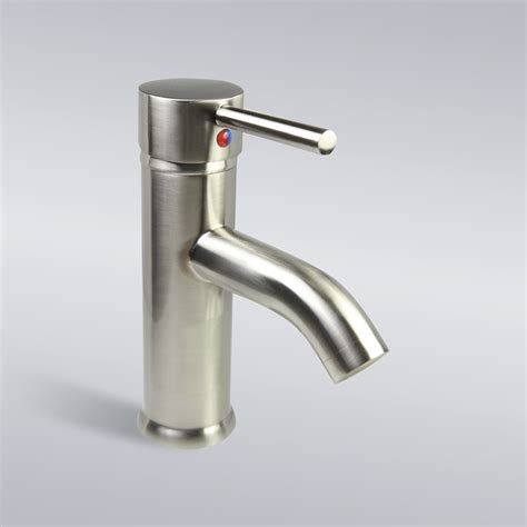 faucet for sink in bathroom brushed nickel bathroom lavatory vessel sink single hole