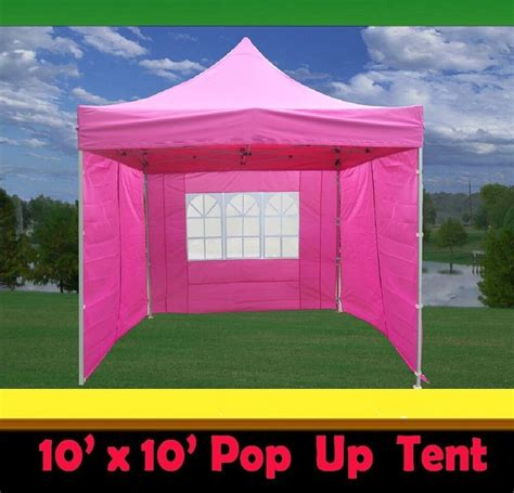 pop  canopy party tent pink  model upgraded frame ebay