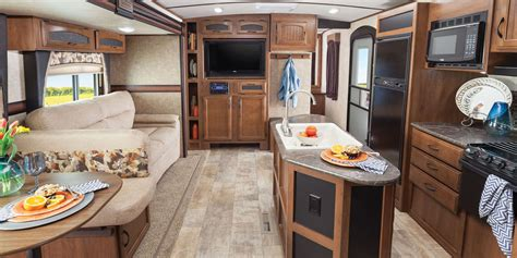 Travel Trailers With Outdoor Kitchens And Bunk Beds