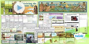 Stone Age to Iron Age Unit Pack - Year 5 & 6 History