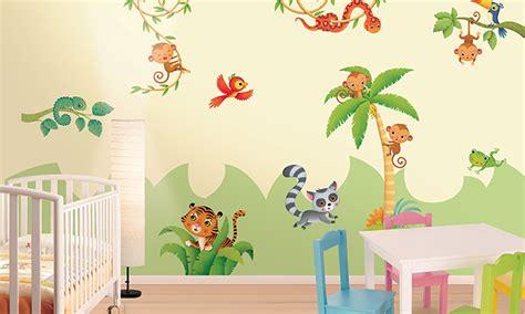 Stickers Per Camerette Bambini by Stickers Murali Bambini Cameretta Nella Foresta