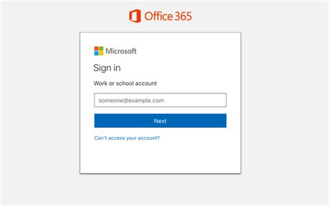 Office 365 Email Login by New Office 365 Sign In Experience For End Users
