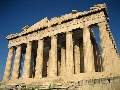 Greece Ancient Resolution Background Cloud Greek Ruins