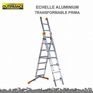 Echelle Transformable 3 Plans : echelle 3 plans prima transformable 625 cm outifrance ~ Edinachiropracticcenter.com Idées de Décoration