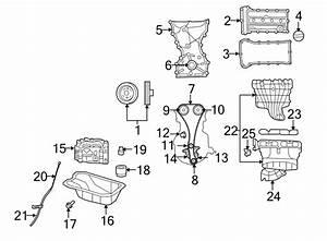Dodge Caliber Engine Balance Shaft Chain Guide  2 4 Liter