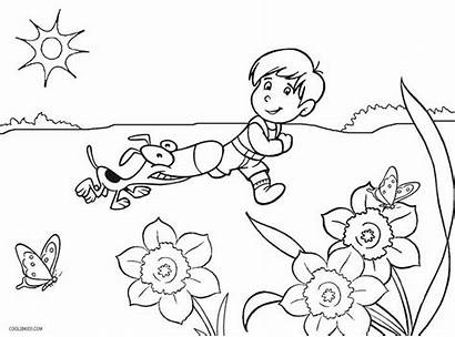 Kindergarten Coloring Pages Printable Worksheets Activity Worksheet