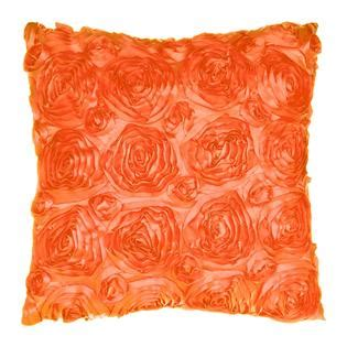 kensington home fashions softline home fashions inc kensington orange 18x18 decorative pillow