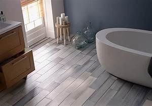 Sol Bois Salle De Bain : salle de bains 15 sols qui font la diff rence elle ~ Premium-room.com Idées de Décoration