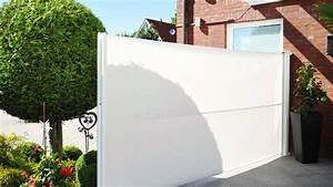 ausziehbare seitenmarkise sichtschutz exclusiv home With windschutz terrasse seitenmarkise