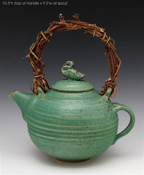 Basket Decor Ideas by Duck Teapot 43 By Ron Mello Ceramic Teapot Artful Home